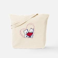 Allstar Westie Love Tote Bag