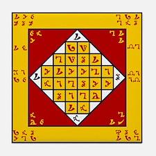 Cool Enochian Tile Coaster