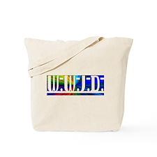 Burst WWJD Tote Bag