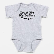 Funny Lawyers Baby Bodysuit