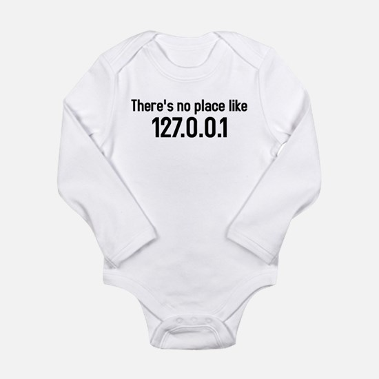 Cute Place humor Long Sleeve Infant Bodysuit