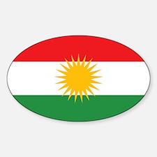 Flag of Kurdistan (Alay Kurdistan, Alaya R Decal