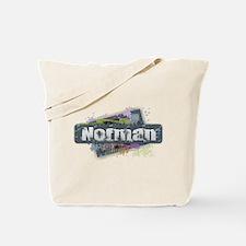 Norman Design Tote Bag