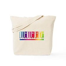 Rainbow WWJD Tote Bag