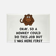 Cute Joke Rectangle Magnet