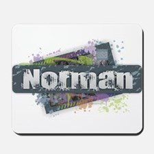 Norman Design Mousepad
