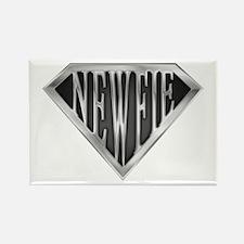 SuperNewfie(metal) Rectangle Magnet