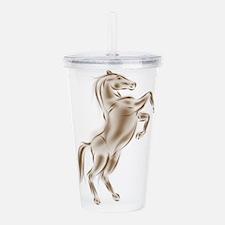 Spirit Horse Acrylic Double-wall Tumbler