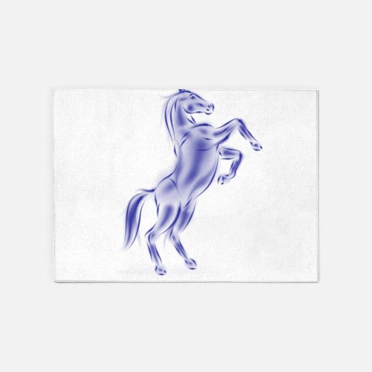 Spirit Horse 5'x7'Area Rug