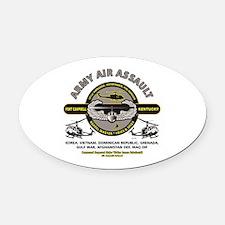 Cute Air Oval Car Magnet