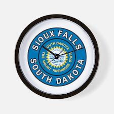 Unique Sioux Wall Clock