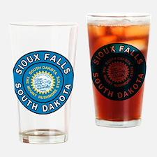 Cute Mount rushmore Drinking Glass