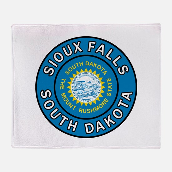 Sioux Falls Throw Blanket