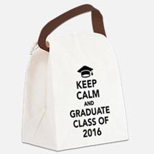 Keep calm and graduate class of 2 Canvas Lunch Bag