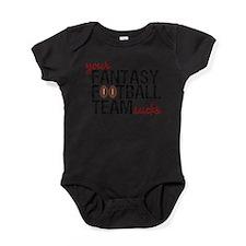 Unique Fantasy sports Baby Bodysuit