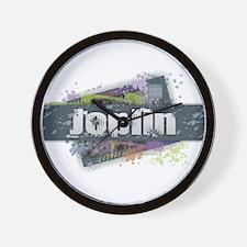 Joplin Design Wall Clock