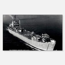 USS TERRELL COUNTY Decal