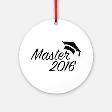 Master 2016 Round Ornament