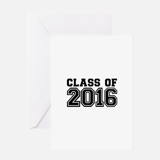Class of 2016 Greeting Card