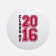 Class of 2016 Round Ornament