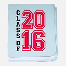 Class of 2016 baby blanket