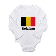 Cute Flag Long Sleeve Infant Bodysuit