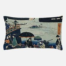 Ancient Ukiyo e Japanese Geisha Pillow Case
