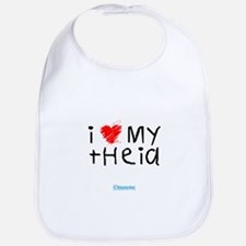 Cool I love my moms Bib