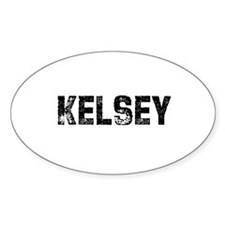 Kelsey Oval Decal