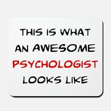 awesome psychologist Mousepad