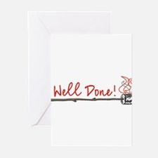 Cute Well done Greeting Cards (Pk of 20)
