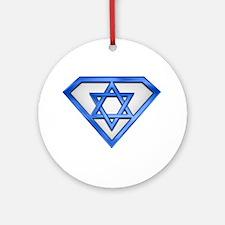 Super Jew/Israeli Ornament (Round)