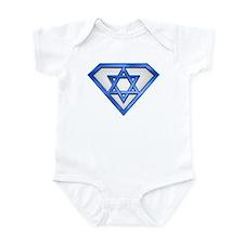 Super Jew/Israeli Infant Bodysuit