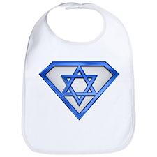 Super Jew/Israeli Bib