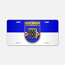 Bochum Aluminum License Plate