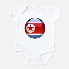 DRP Korea Flag Jewel Infant Bodysuit