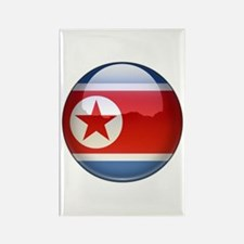 DRP Korea Flag Jewel Rectangle Magnet