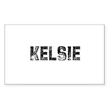 Kelsie Rectangle Decal