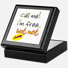 Call me! Keepsake Box