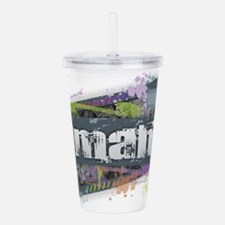 Omaha Design Acrylic Double-wall Tumbler