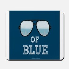 Shade's Of Blue Mousepad