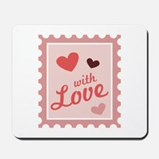 With Love Stamp Mousepad
