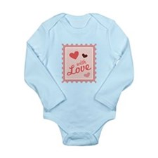 With Love Stamp Body Suit