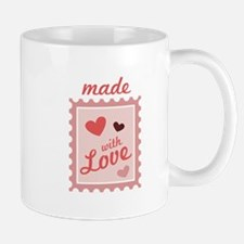 Made With Love Stamp Mugs