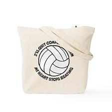 QUIT VB (both sides) Tote Bag