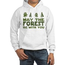 Funny Forest green Hoodie