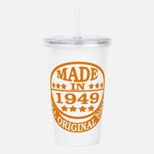 Made in 1949, All orig Acrylic Double-wall Tumbler