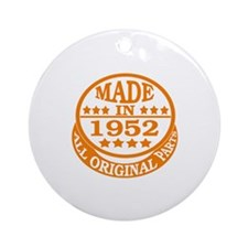 Made in 1952, All original parts Round Ornament