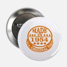 """Made in 1954, All original parts 2.25"""" Button"""