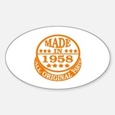 Made in 1958, All original parts Decal